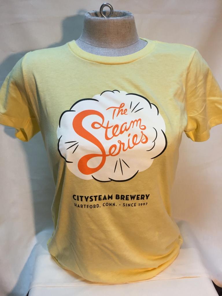 Steam Series T-Shirt - Yellow