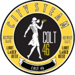 Colt 46 Lager Citysteam Brewery